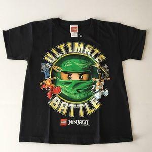 Ninjago Tee Shirt Sizes 5/6, 7 New